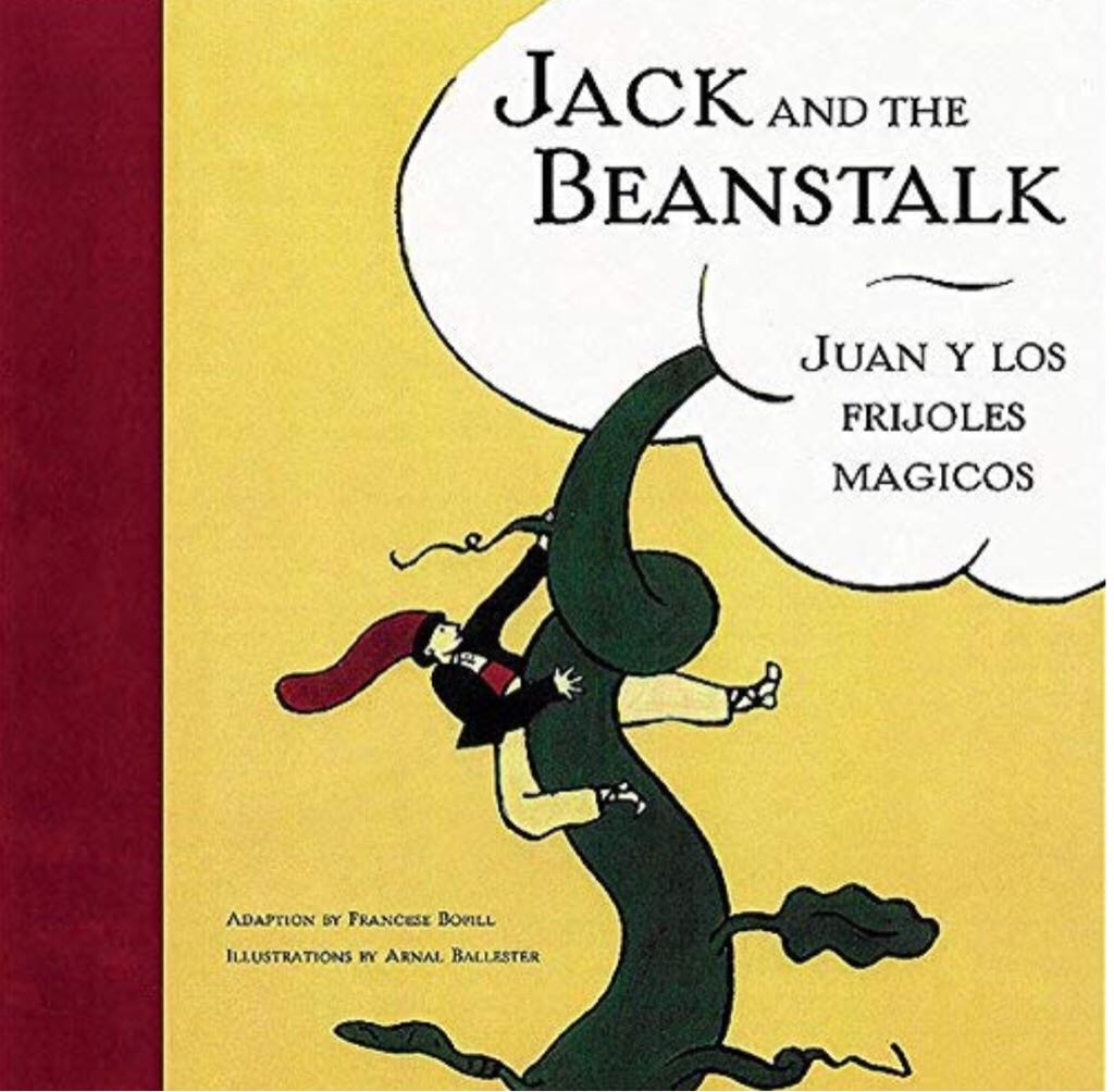 Jack And The Beanstalk ~ Juan Y Los Frijoles Magicos -  cover