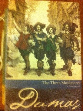 The Three Musketeers - Paperback cover