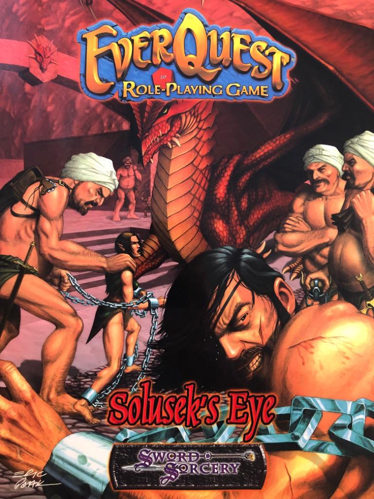 EverQuest RPG: Solusek's Eye -  cover