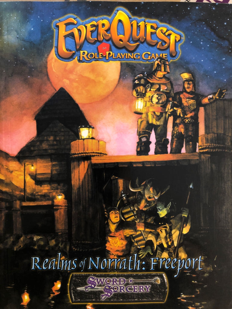 EverQuest RPG: Realms of Norrath - Freeport - Paperback cover