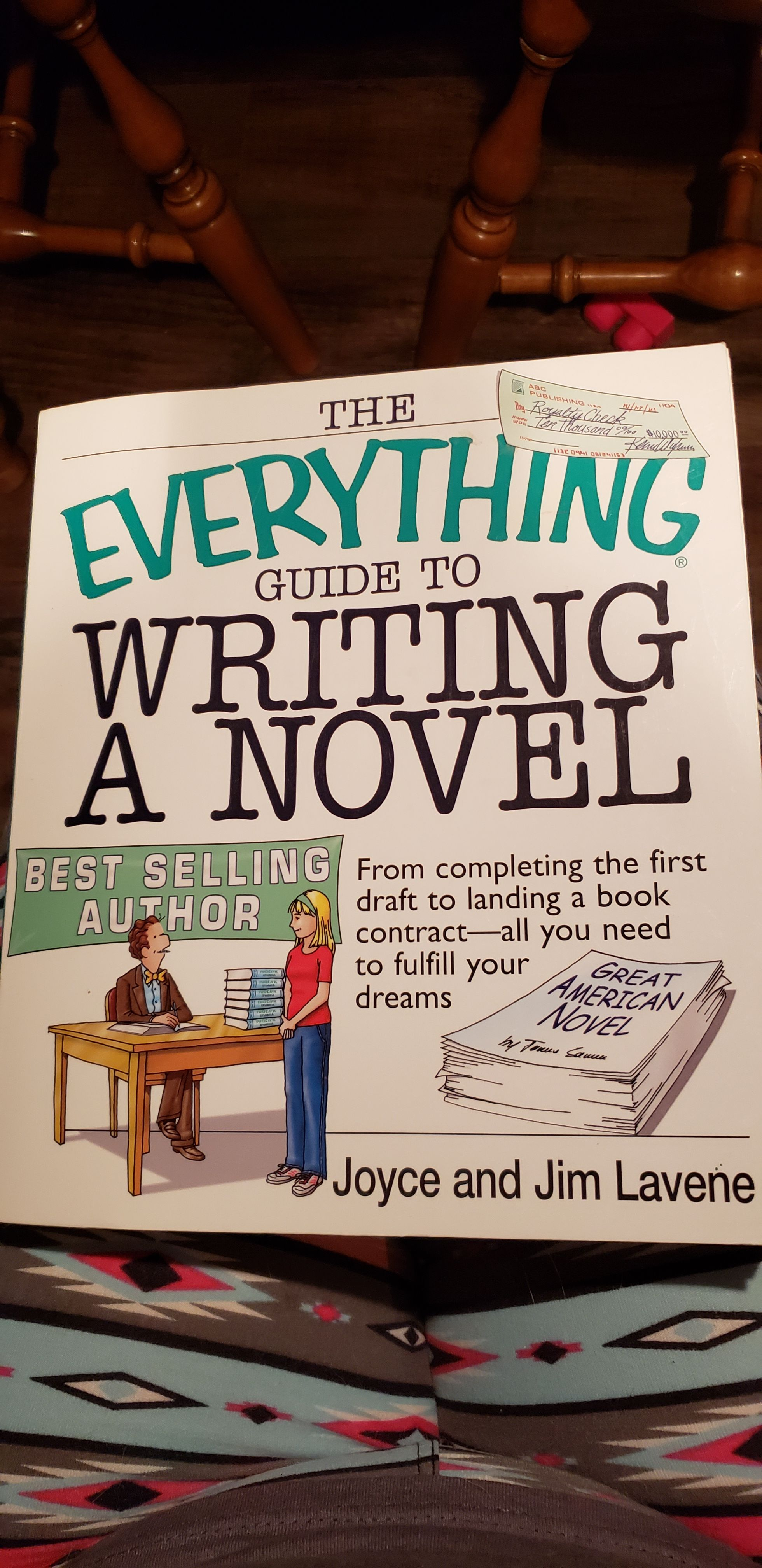 Everything Guide to Writing a Novel -  cover
