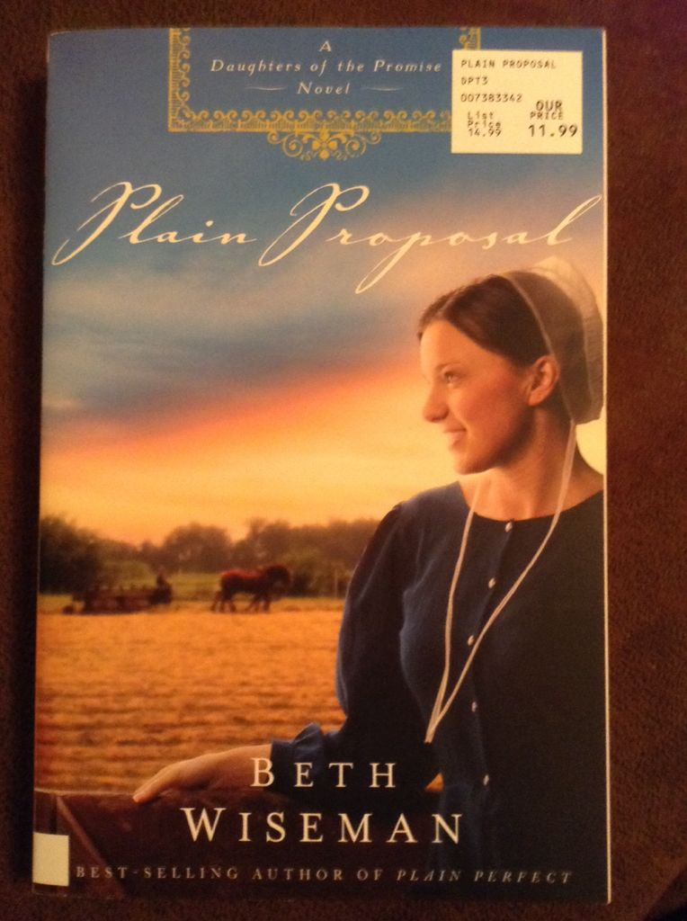 Daughters of the Promise Book 5: Plain Proposal - Paperback cover