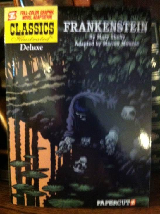 Frankenstein -  cover