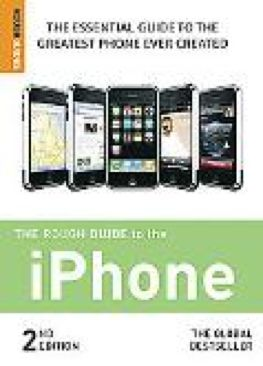 Rough Guide to the iPhone-10: 1848360320-13: - Paperback cover