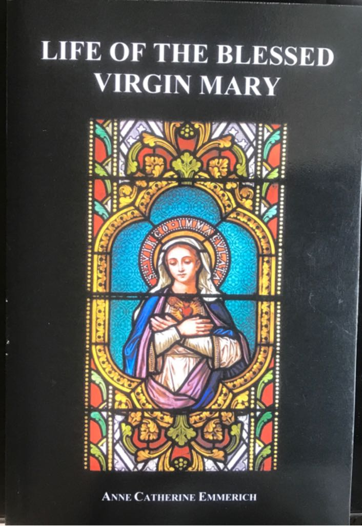 Life Of The Blessed Virgin Mary -  cover