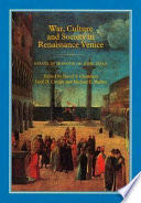 War, Culture and Society in Renaissance Venice -  cover