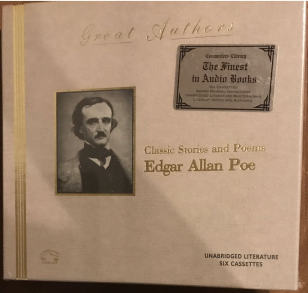 Great Authors- Classic Stories And Poems Of Edgar Allan Poe - Audiobook cover