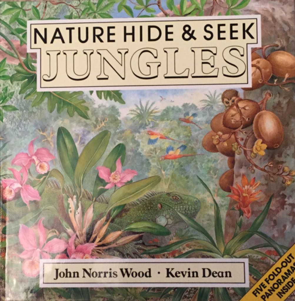 Nature Hide & Seek: Jungles - Hardcover cover