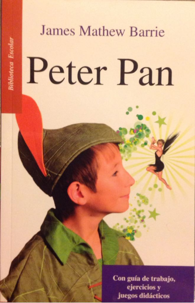 Peter Pan - Paperback cover