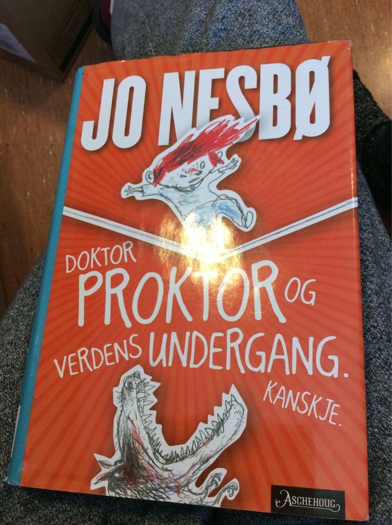 Doktor Proktor og verdens undergang -  cover