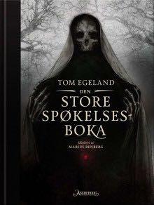 Den store spøkelsesboka - Paperback cover