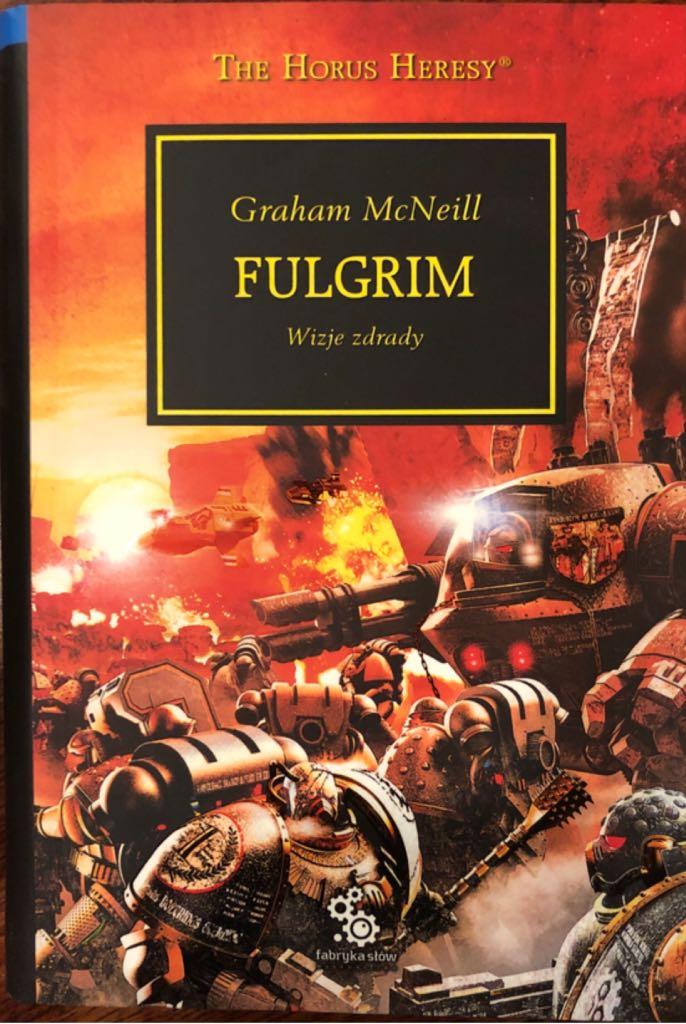 Fulgrim -  cover
