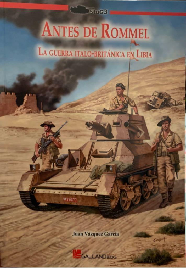 Antes de Rímel A Guerra Italo-Británica em Libia -  cover