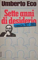 Sette anni di desiderio - Paperback cover