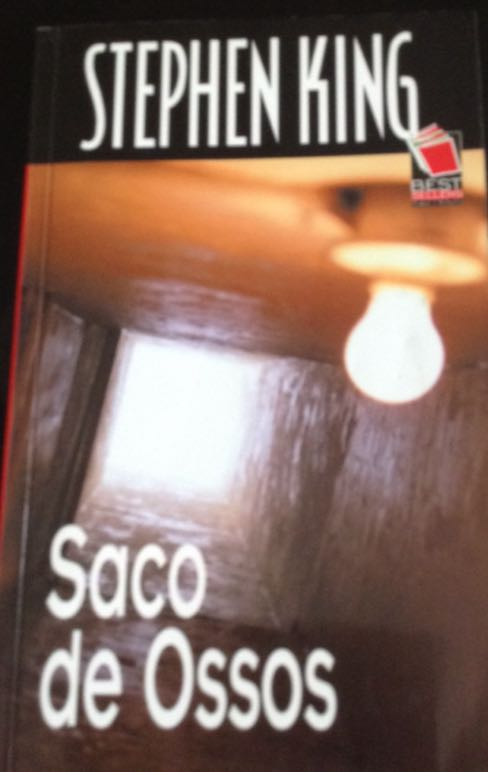 saco de ossos - Paperback cover