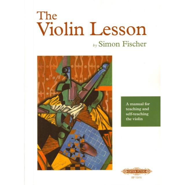 The Violin Lesson By Simon Fischer -  cover