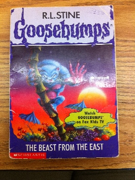 Goosebumps: #43 The Beast From The East    - Paperback cover
