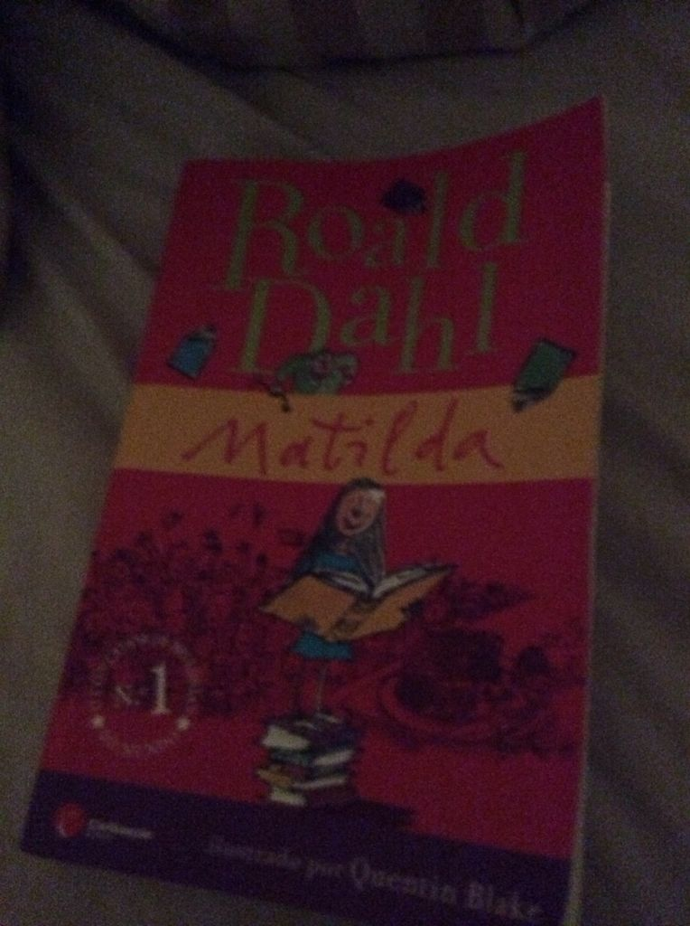 Matilda - Paperback cover
