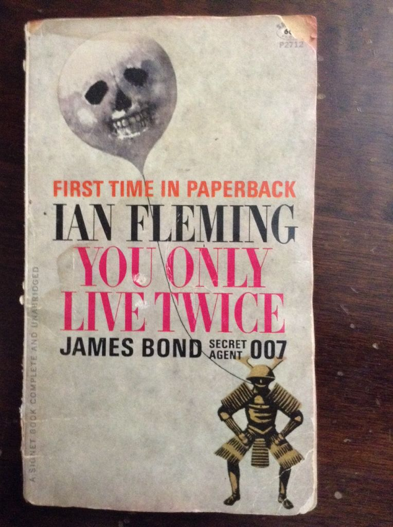 You Only Live Twice - Hardcover cover