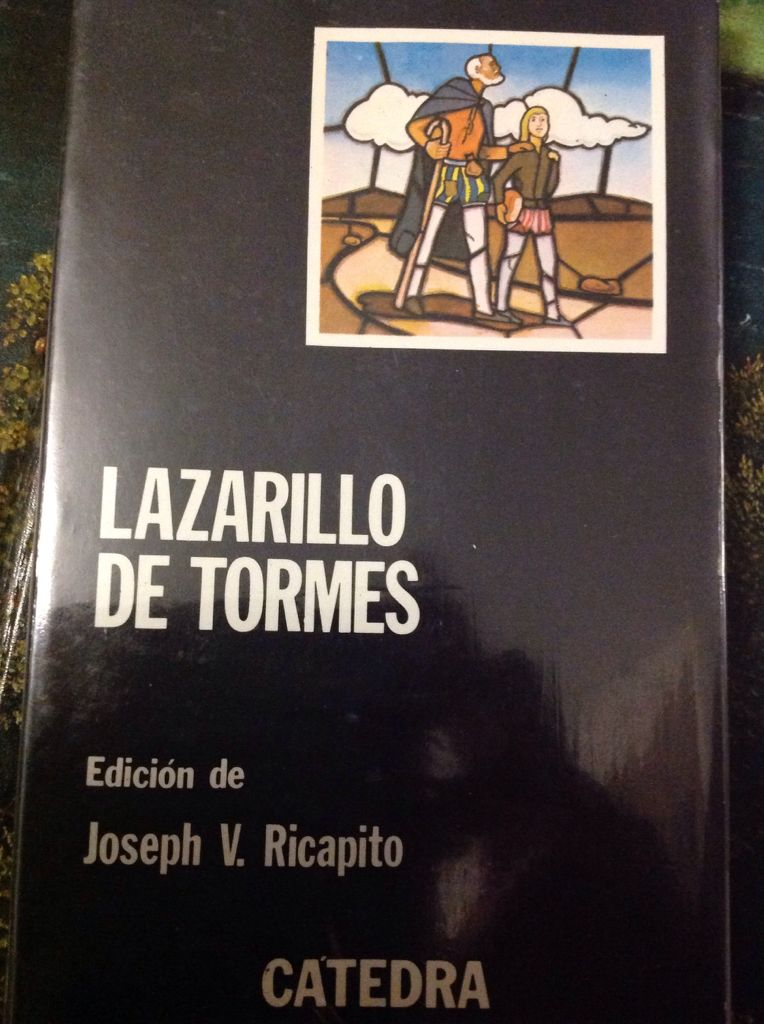 Lazarillo de Tormes - Paperback cover