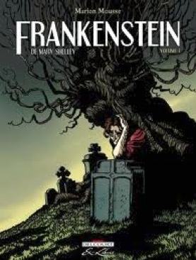 Frankenstein - Paperback cover