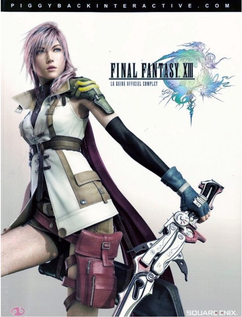 Final Fantasy XIII Official Game Guide -  cover