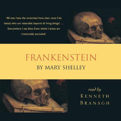 Frankenstein - Audiobook cover