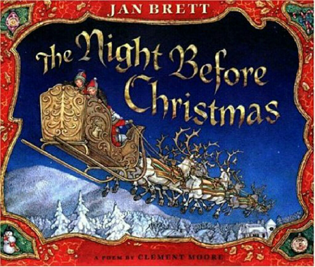 The Night Before Christmas -  cover