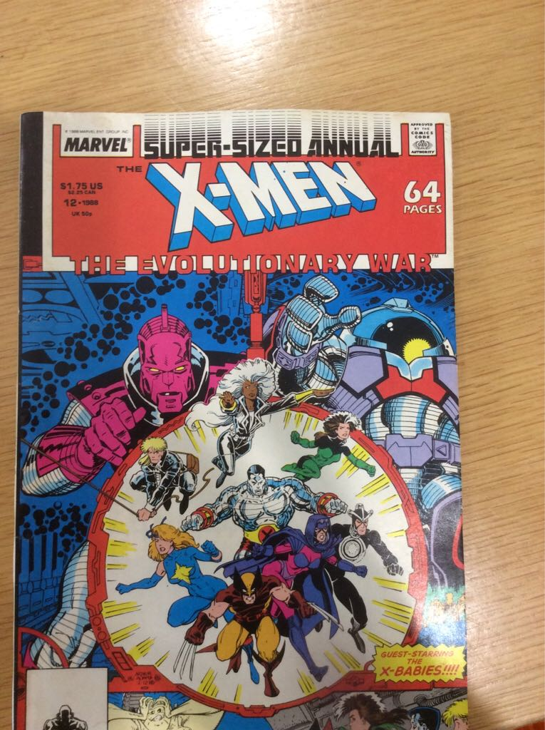 The X-Men - Paperback cover