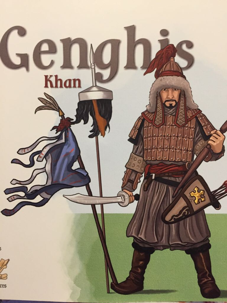 Genghis Khan - Hardcover cover