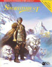 Swordthrust -  cover