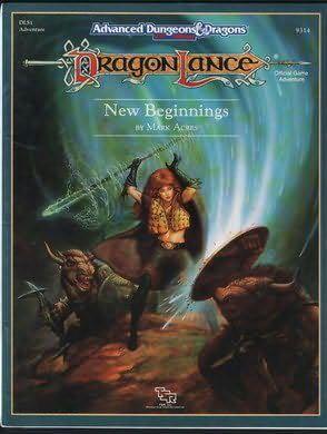 Dragonlance New Beginnings -  cover
