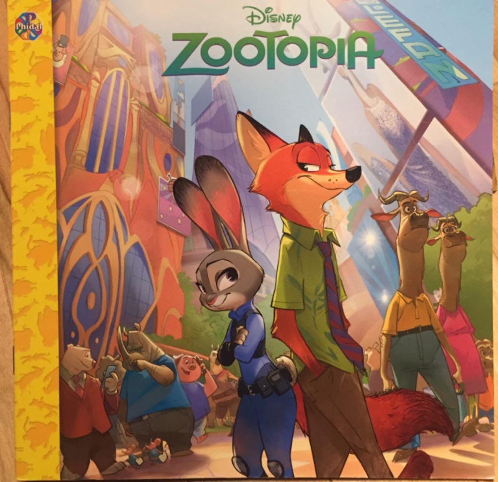 Zootopia -  cover