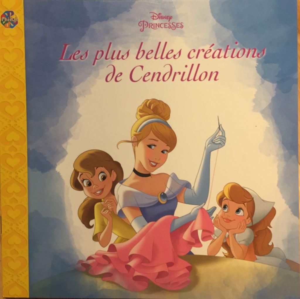 Les Plus Belles Créations De Cendrillon -  cover