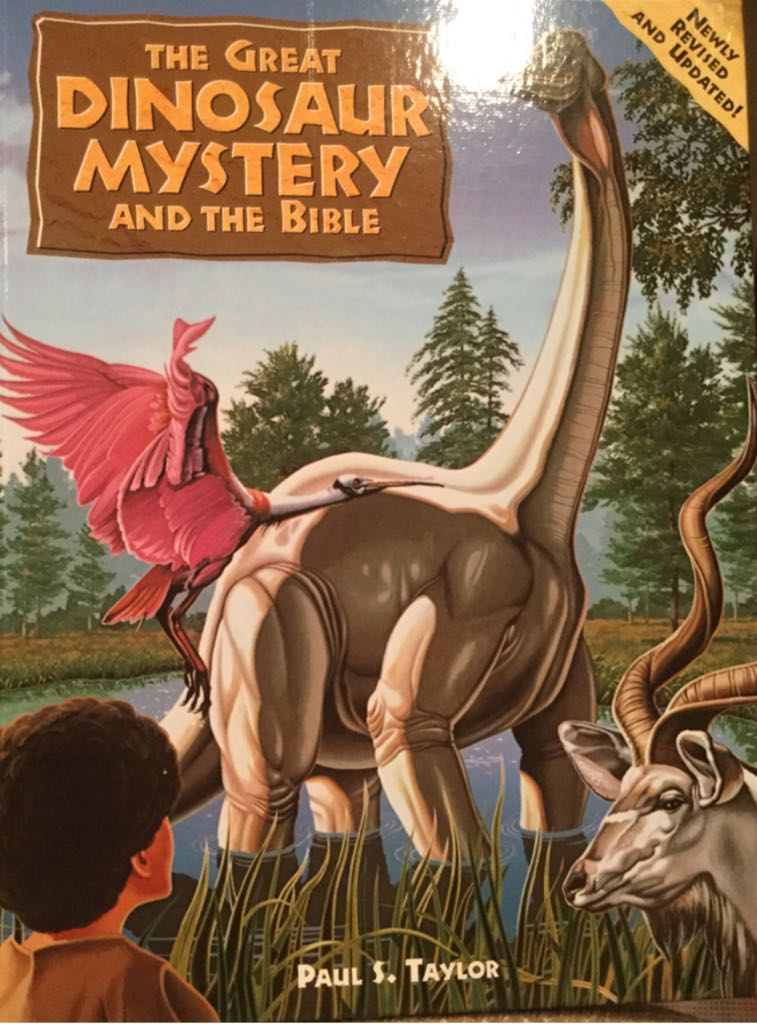 The Great Dinosaur Mystery Abd The Bible -  cover