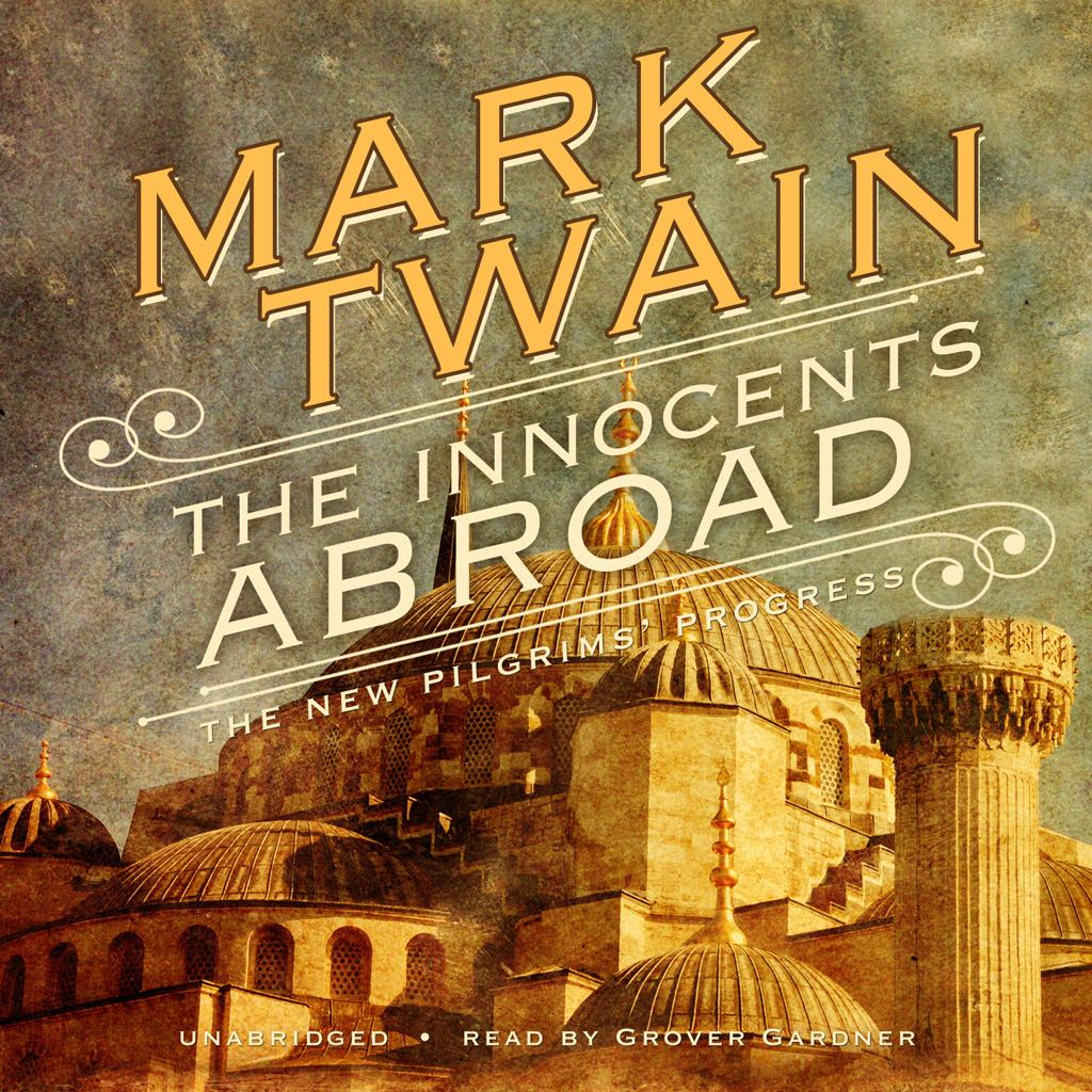 The Innocents Abroad - Audiobook cover