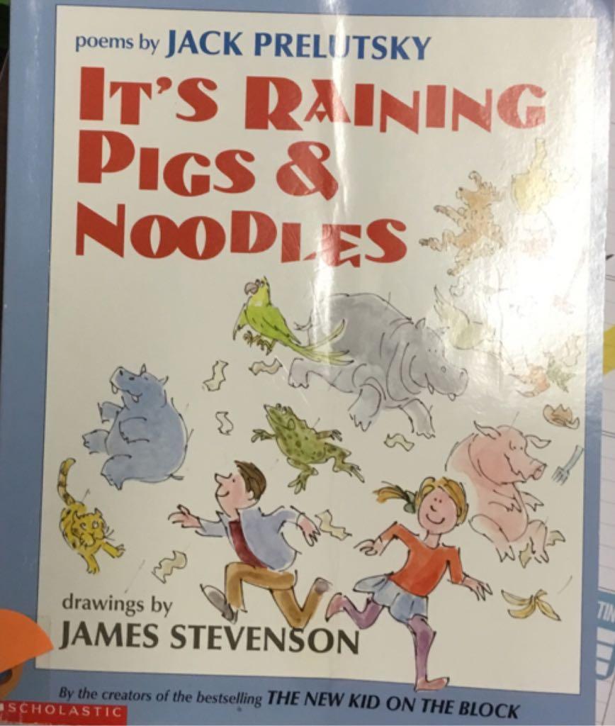 Its Raining Pigs And Noodles -  cover