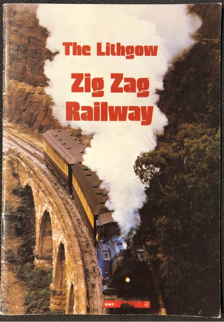 The Lithgow Zig Zag Railway -  cover