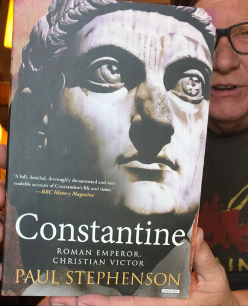 Constantine Roman Emperor -  cover