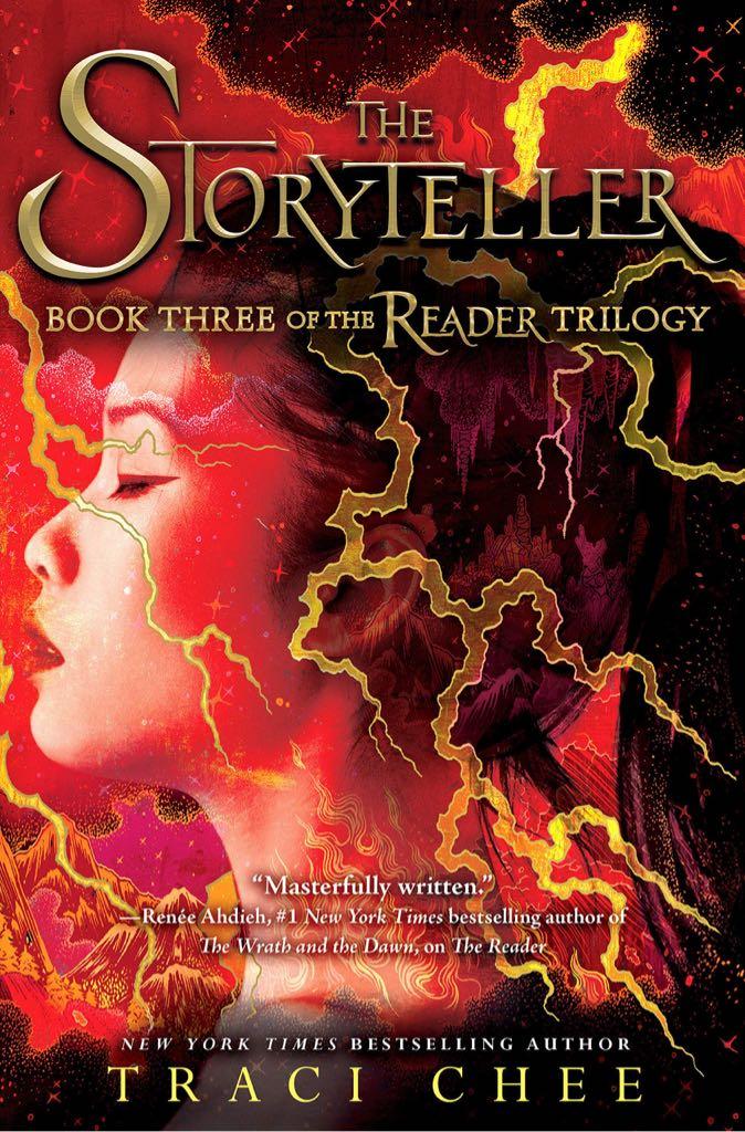 The Storyteller - Paperback cover