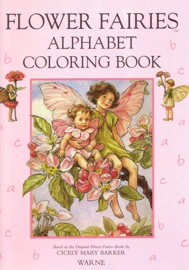 The Flower Fairies Coloring Book -  cover
