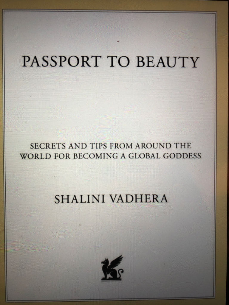 Passport To Beauty -  cover