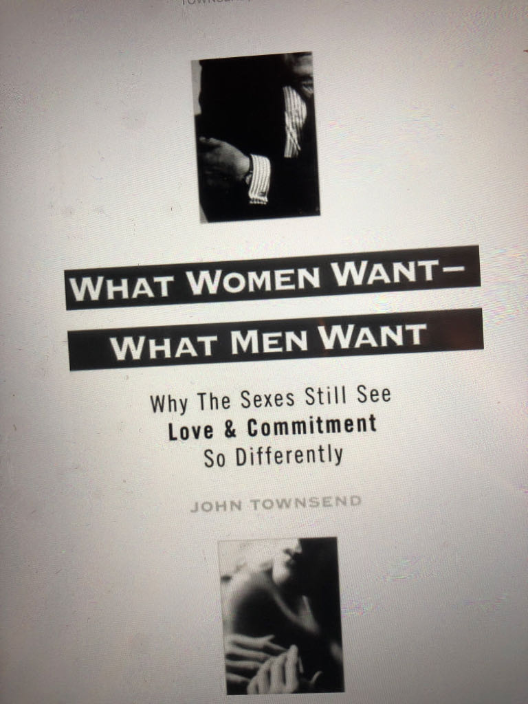 What Woman Want What Men Want -  cover