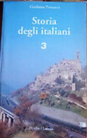 Storia degli italiani Vol. 3 -  cover