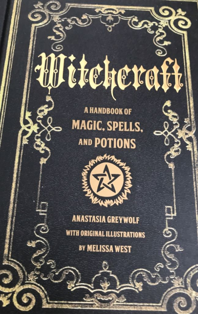 Witchcraft A Handbook Of Magic Spells -  cover