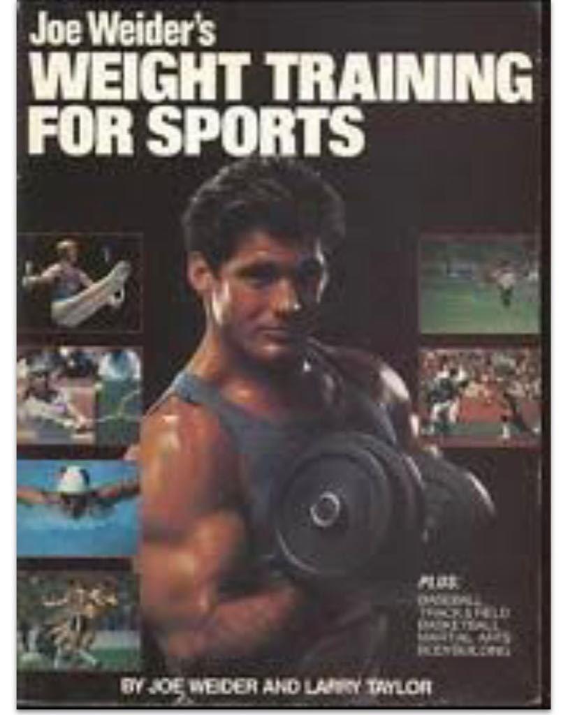 Joe Weider's Weight Training For Sports -  cover