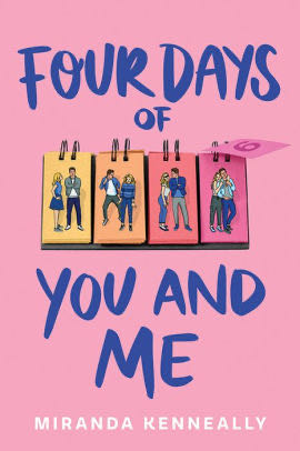 Four Days of you and me - eBook cover