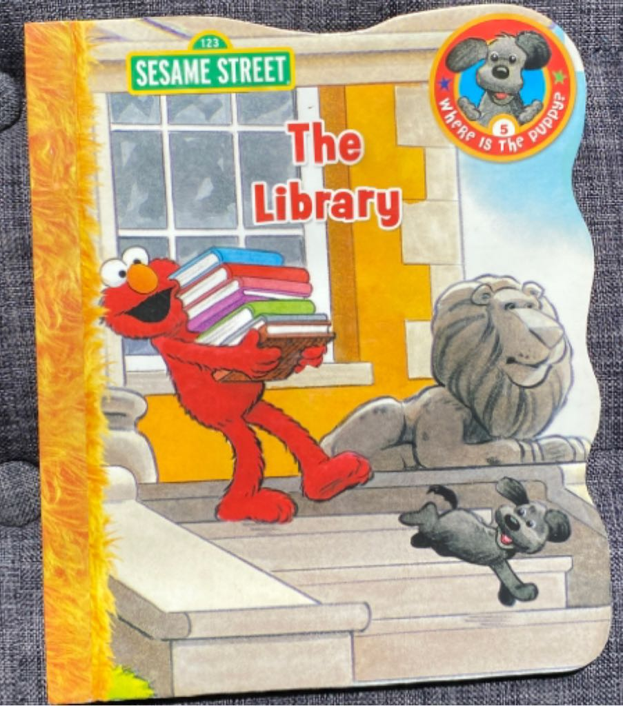 Sesame Street The Library -  cover