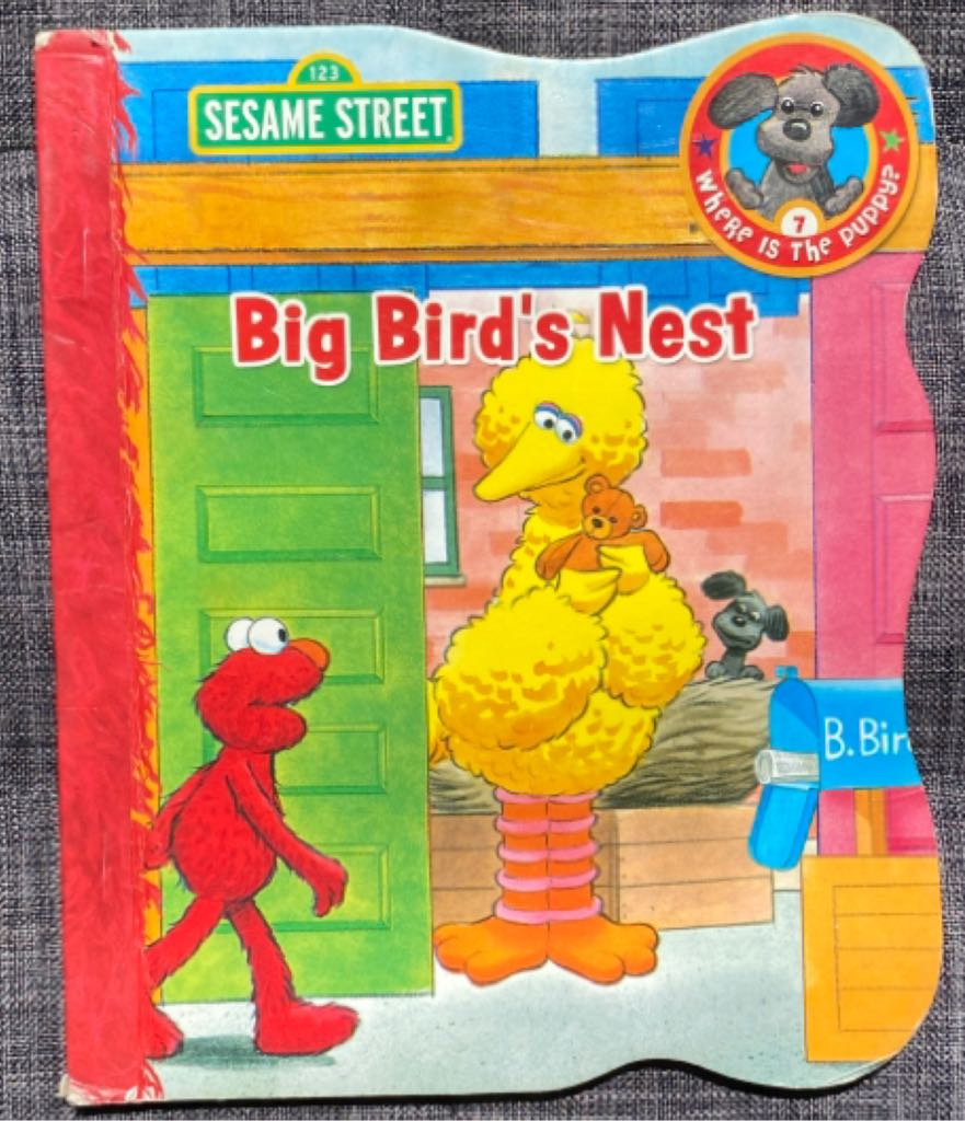 Sesame Street Big Bird's Nest -  cover
