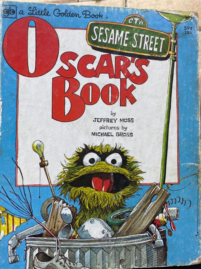 Oscars book Sesame Street -  cover